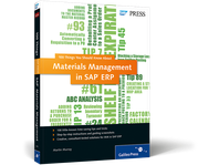 Cover of Materials Management in SAP ERP