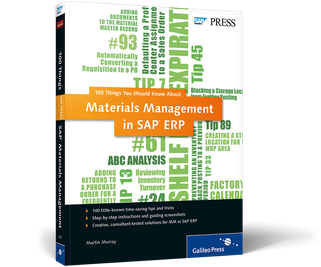 Cover von Materials Management in SAP ERP