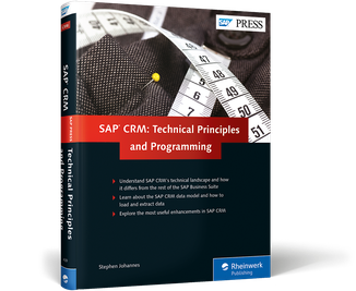 Cover von SAP CRM: Technical Principles and Programming