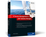 Cover of ITSM and ChaRM in SAP Solution Manager