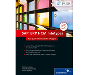 Cover of SAP ERP HCM Infotypes