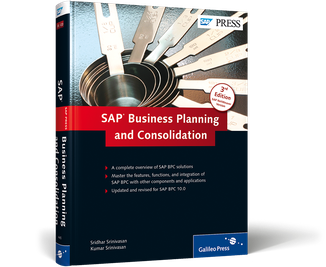 Cover of SAP Business Planning and Consolidation