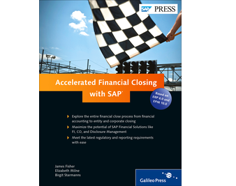 Cover of Accelerated Financial Closing with SAP