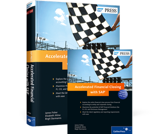 Cover von Accelerated Financial Closing with SAP