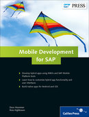Cover of Mobile Development for SAP