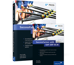 Cover von SuccessFactors with SAP ERP HCM