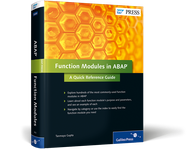 Cover von Function Modules in ABAP