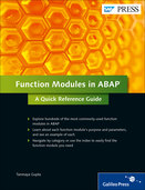 Cover of Function Modules in ABAP