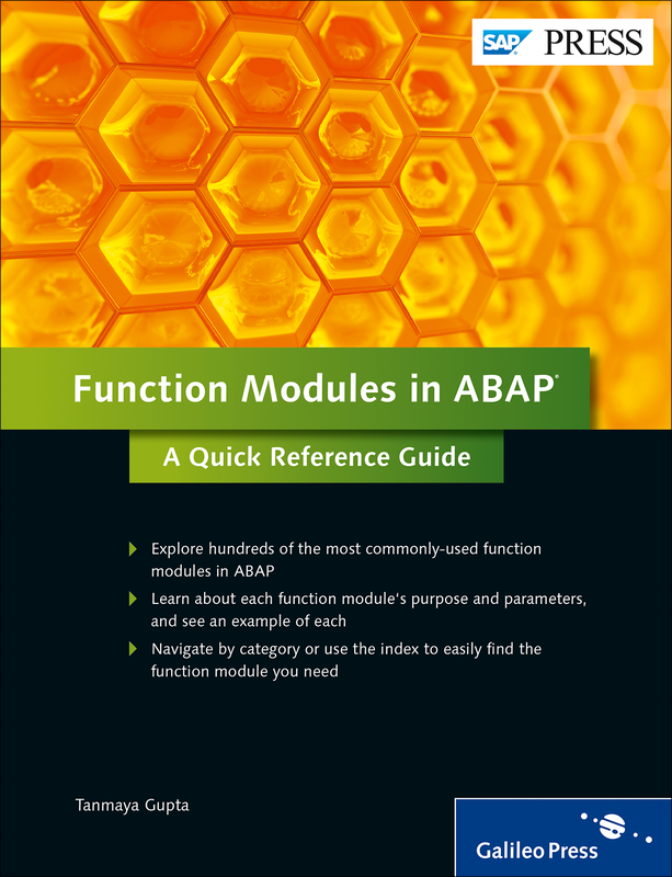 Function Modules in ABAP - A Quick Reference Guide