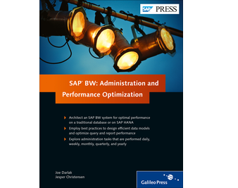 Cover von SAP BW: Administration and Performance Optimization