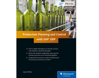 Cover of Production Planning and Control with SAP ERP