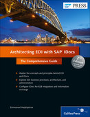 Cover von Architecting EDI with SAP IDocs