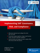 Cover von Implementing SAP Governance, Risk, and Compliance