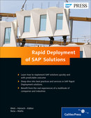 Cover of Rapid Deployment of SAP Solutions