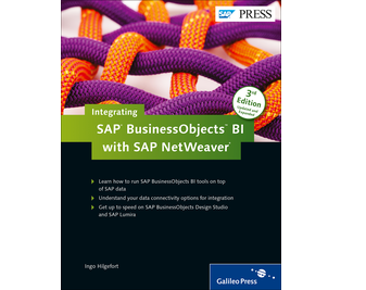 Cover of Integrating SAP BusinessObjects BI with SAP NetWeaver