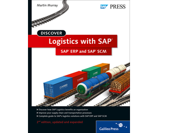 Cover of Discover Logistics with SAP