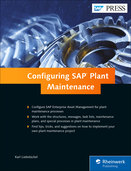 Cover of Configuring SAP ERP Plant Maintenance