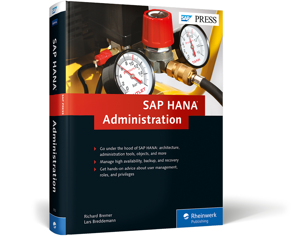 SAP HANA Administration | Book and E-Book