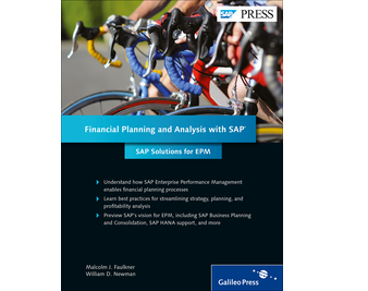 Cover von Financial Planning and Analysis with SAP