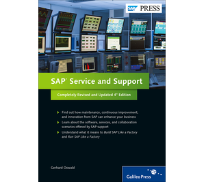 Cover von SAP Service and Support
