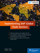 Cover of Implementing SAP Global Trade Services