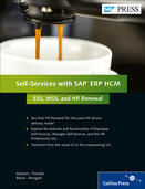 Cover of Self-Services with SAP ERP HCM