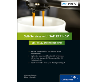 Cover von Self-Services with SAP ERP HCM