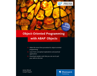 Cover von Object-Oriented Programming with ABAP Objects