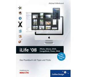 Cover von iLife '08: iPhoto, iMovie, iDVD, GarageBand, iTunes und iWeb