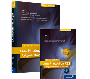 Cover von Adobe Photoshop CS3 fortgeschrittene Techniken