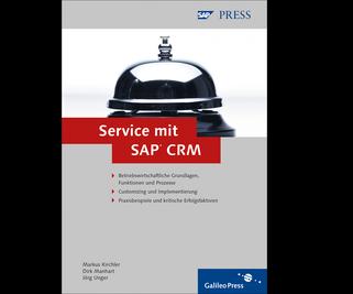 Cover von Service mit SAP CRM