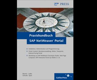 Cover von Praxishandbuch SAP NetWeaver Portal