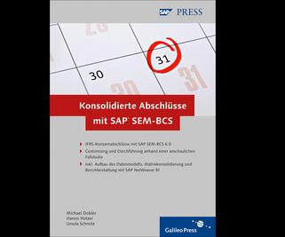 Cover von Konsolidierte Abschlüsse mit SAP SEM-BCS