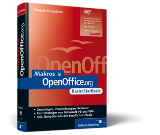 Cover von Makros in OpenOffice.org – Basic/StarBasic
