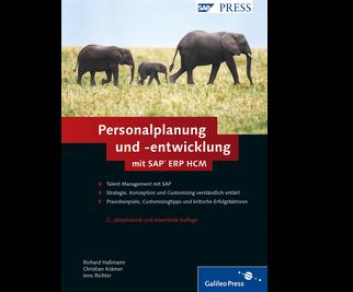Cover von Personalplanung und -entwicklung mit SAP ERP HCM