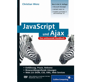 Cover von JavaScript und Ajax