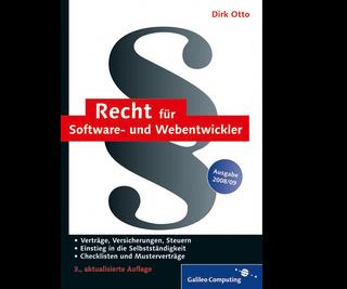 Cover von Recht für Software- und Webentwickler