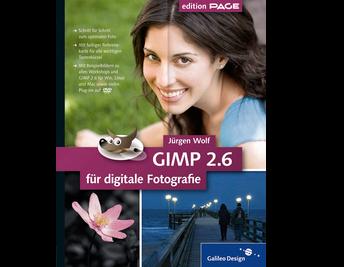 Cover von GIMP 2.6 für digitale Fotografie