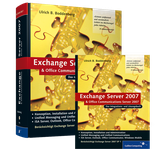 Cover von Exchange Server 2007 und Office Communications Server 2007