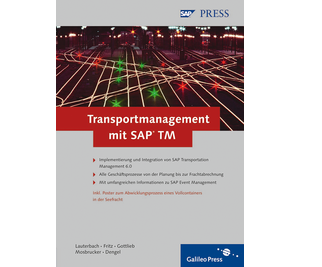 Cover von Transportmanagement mit SAP TM