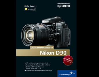 Cover von Nikon D90. Das Kamerahandbuch