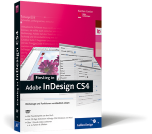 Cover von Einstieg in Adobe InDesign CS4