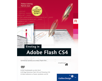 Cover von Einstieg in Adobe Flash CS4
