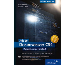 Cover von Adobe Dreamweaver CS4