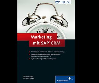 Cover von Marketing mit SAP CRM