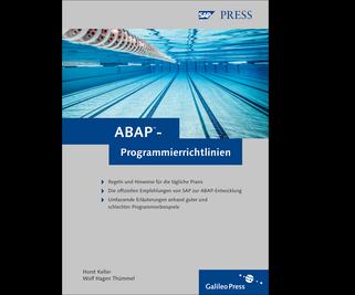 Cover von ABAP-Programmierrichtlinien