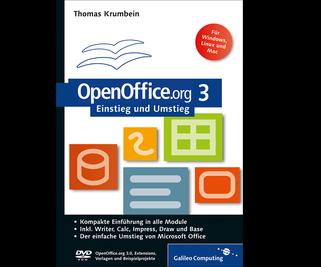 Cover von OpenOffice.org 3 Einstieg und Umstieg