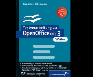 Cover von Textverarbeitung mit OpenOffice.org 3 Writer