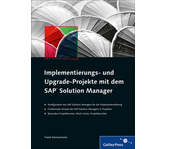Cover von Implementierungs- und Upgrade-Projekte mit dem SAP Solution Manager