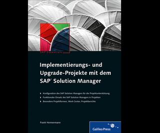 Cover von Implementierungs- und Upgrade-Projekte mit dem SAP Solution Manager
